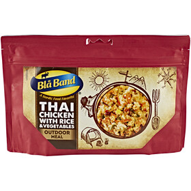 Bla Band Outdoor Meal Outdoor Nutrition Thai Chicken with Rice and Vegetables 150g